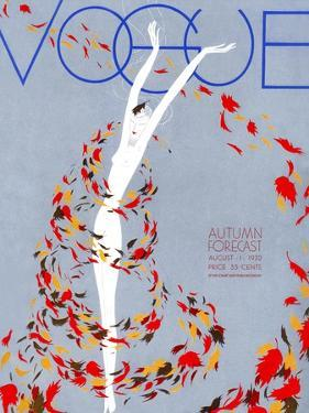 Vogue Cover - August 1932 by William Bolin