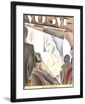 Vogue Cover - June 1926 by William Bolin