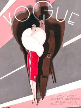 Vogue Cover - November 1926 by William Bolin