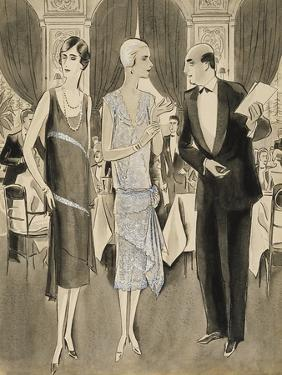 Vogue - June 1928 by William Bolin
