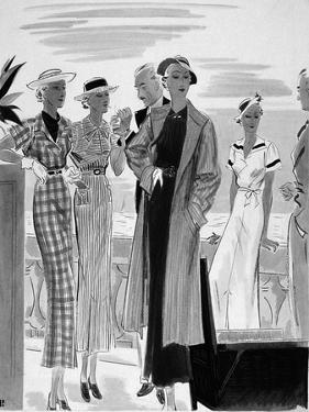 Vogue - May 1934 by William Bolin
