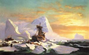 Crushed in the Ice by William Bradford
