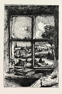 A Window in Thrums, 1893 by William Brassey Hole