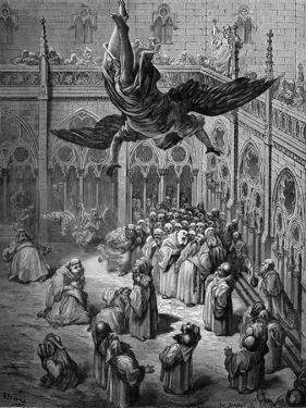 Daniel interprets dream of Nebuchadnezzar - Bible by William Brassey Hole