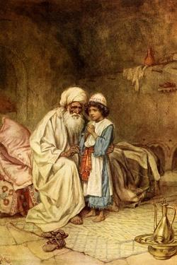 Eli and Samuel And he said 'It is the Lord: - Bible by William Brassey Hole