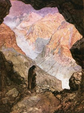 Elijah in the Desert of Horeb by William Brassey Hole