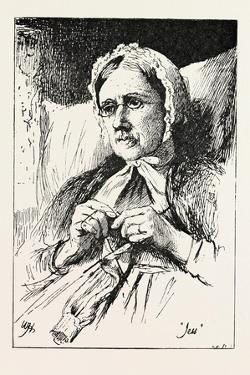 Jess, from a Window in Thrums, 1893 by William Brassey Hole