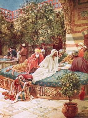 Jesus at the House of Simon the Pharisee by William Brassey Hole