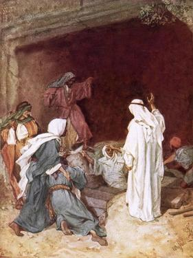 Jesus Raising Lazarus from the Dead by William Brassey Hole