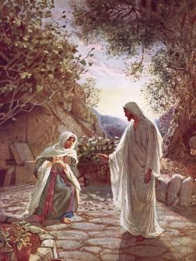 Jesus Revealing Himself to Mary Magdalene by William Brassey Hole