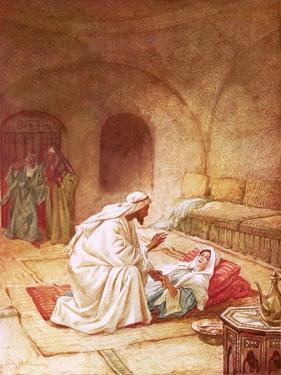 Jesus Reviving Jairus's Daughter by William Brassey Hole