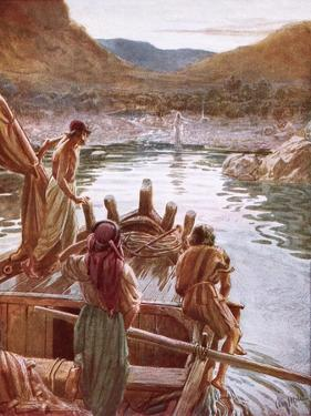 Jesus Showing Himself to Peter and Others by the Sea of Galilee by William Brassey Hole