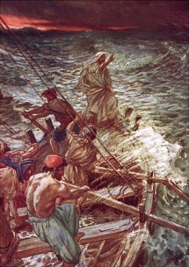 Jesus Stilling the Tempest by William Brassey Hole