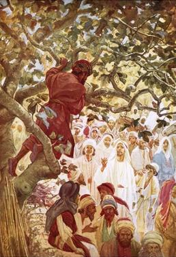 Jesus Summoning Zacchaeus the Publican to Entertain Him at His House by William Brassey Hole