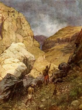 Jonathan and the Philistines - Bible by William Brassey Hole
