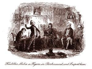 Judah pleading for Joseph for his brother - Bible by William Brassey Hole