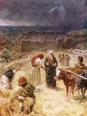 King David Purchasing the Threshing Floor by William Brassey Hole