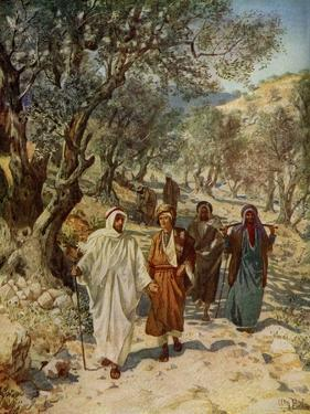 Philip and Nathaneal become Jesus 's disciples - Bible by William Brassey Hole