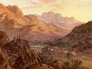 The Battle of Rephidim, Exodus - Bible by William Brassey Hole