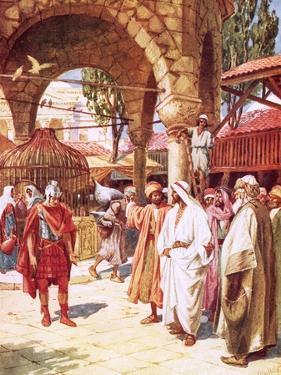 The Centurion Beseeching Jesus on Behalf of His Servant by William Brassey Hole
