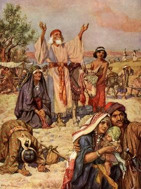 The return of the exiles - Bible by William Brassey Hole