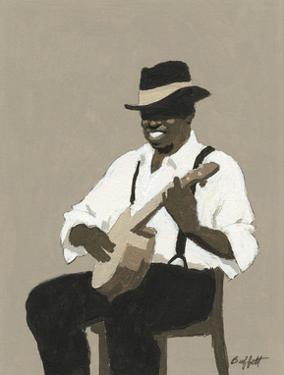Banjo Player by William Buffett