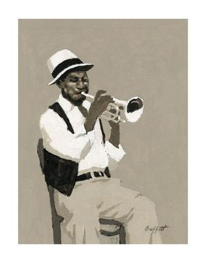 Cornet Player by William Buffett