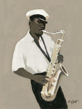 Tenor Saxophone Player by William Buffett