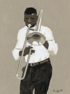 Trombone Player by William Buffett