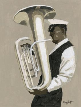 Tuba Player by William Buffett