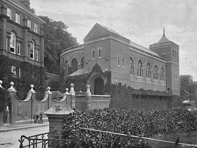 'Harrow, the Speech House', c1896