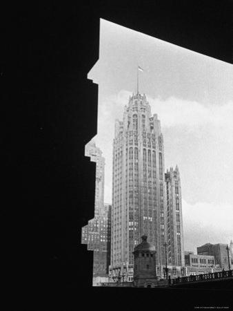 Exterior of McCormick's Tribune Building