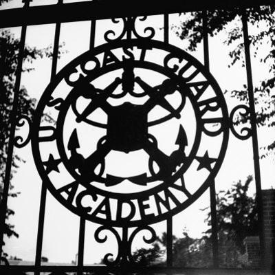 The Us Coast Guard Academy Gate by William C. Shrout