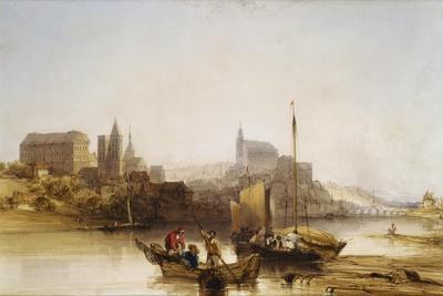 Blois on the Loire, 1840