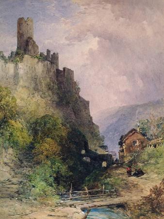 The Castle of Katz on the Rhine