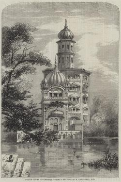 Akalis Tower at Umritzir by William Carpenter