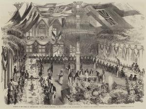 Banquet at the Hotel Du Gouvernement by William Carpenter