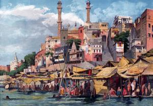 Benares, India, 1857 by William Carpenter