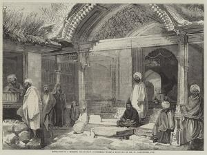 Entrance to a Mosque, Islamabad, Cashmere by William Carpenter