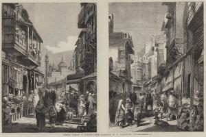 Street Scenes in Lahore by William Carpenter