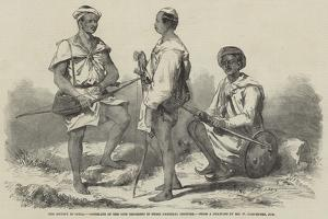 The Mutiny in India, Goorkahs of the 66th Regiment in their National Costume by William Carpenter