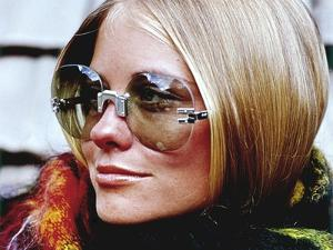 Glamour - November 1969 - Cybill Shepherd Modeling Sunglasses by William Connors