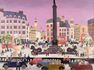 Trafalgar Square by William Cooper
