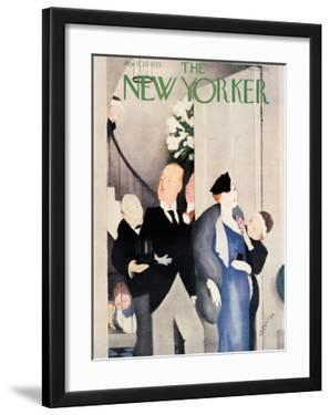 The New Yorker Cover - April 20, 1935 by William Cotton
