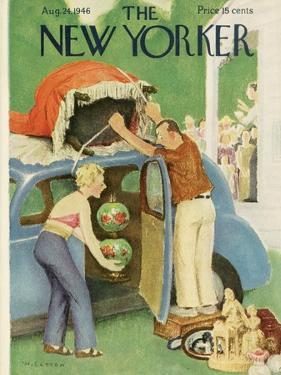 The New Yorker Cover - August 24, 1946 by William Cotton