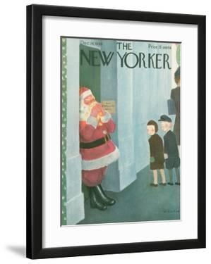 The New Yorker Cover - December 14, 1946 by William Cotton