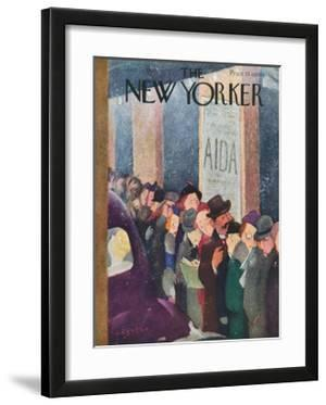 The New Yorker Cover - January 21, 1939 by William Cotton