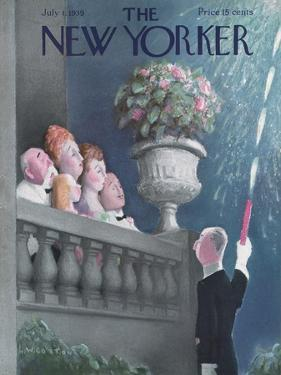 The New Yorker Cover - July 1, 1939 by William Cotton