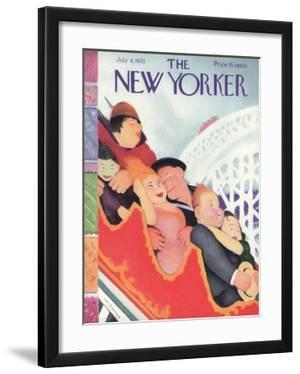 The New Yorker Cover - July 8, 1933 by William Cotton