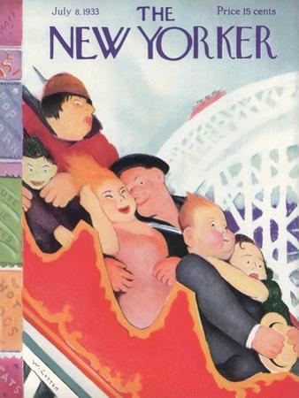 The New Yorker Cover - July 8, 1933